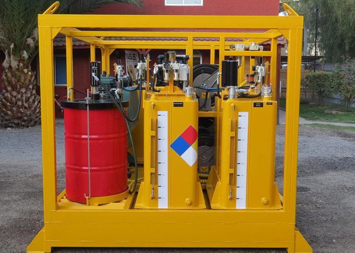 Innovacion skid lubricador autonomo